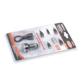 Autós mobiltelefon töltő Kimenő áramerősség: 1, 2.1A 42472