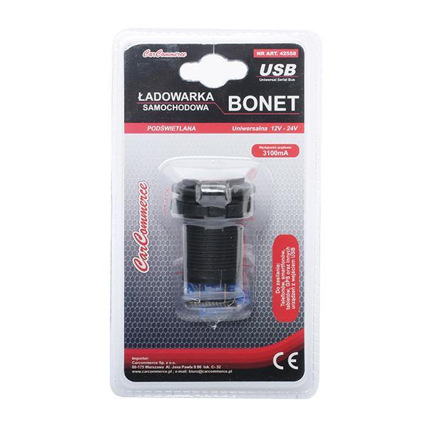 Cablu de încărcare, brichetă 42558 CARCOMMERCE 42558 de calitate originală