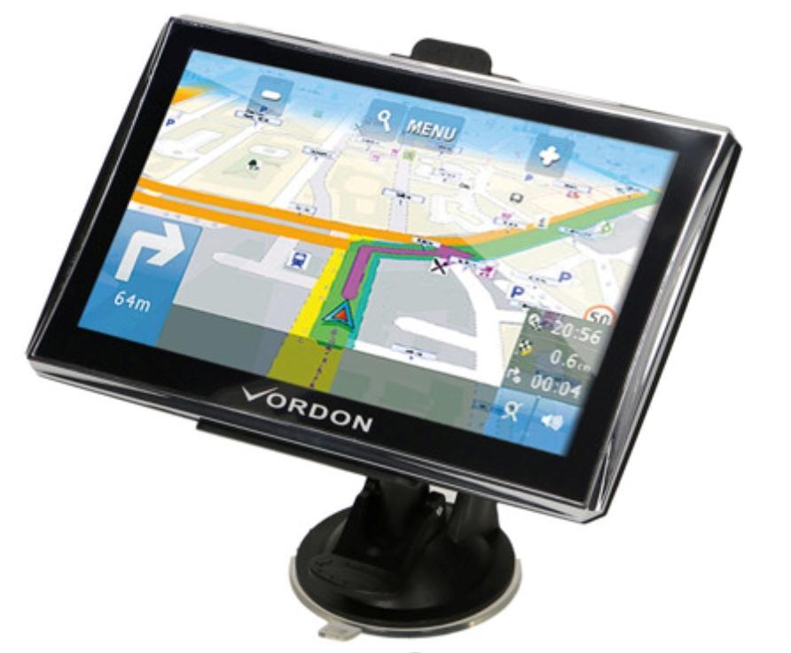 Navigationssystem VGPS7EU VORDON VGPS7EU in Original Qualität