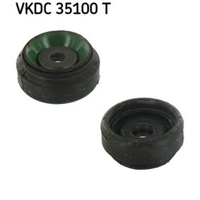 SKF Federbeinstützlager VKDC 35100 T für AUDI COUPE (89, 8B) 2.3 quattro ab Baujahr 05.1990, 134 PS