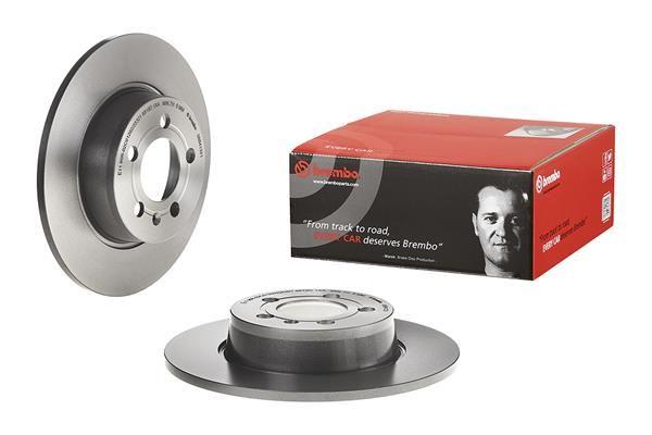 BREMBO COATED DISC LINE 08.B413.21 Bremsscheibe Bremsscheibendicke: 10mm, Lochanzahl: 5, Ø: 272mm