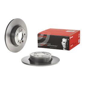 Bremsscheibe Bremsscheibendicke: 10mm, Lochanzahl: 5, Ø: 272mm mit OEM-Nummer 5QD615601A