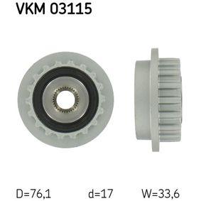 SKF  VKM 03115 Generatorfreilauf