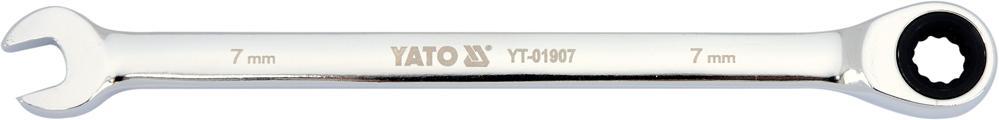 Ratschen-Ringgabelschlüssel YATO YT-01907 5906083019074