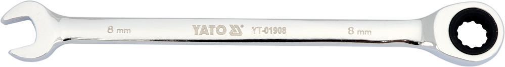Ratschen-Ringgabelschlüssel YATO YT-01908 Bewertung
