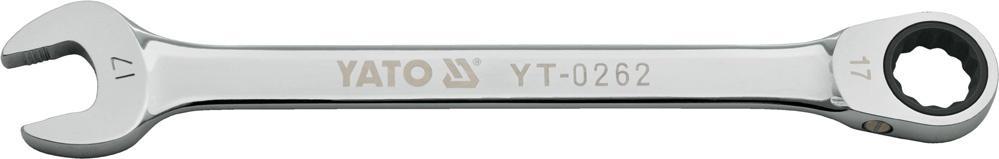 YATO  YT-0257 Ratschen-Ringgabelschlüssel