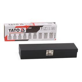 """Kit de llaves de cubo Medidas cuadradillo accionamiento: 12,5 (1/2"""")mm (pulgadas), Ancho llave: E10-E24"""