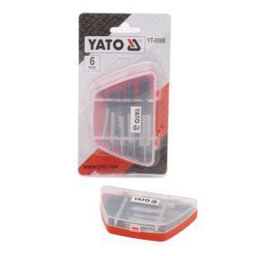 YATO Zestaw wykrętaków do kołków YT-0590