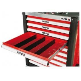 Przedzielnik, szuflada (wózek narzędziowy)