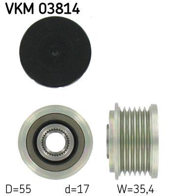 SKF  VKM 03814 Generatorfreilauf