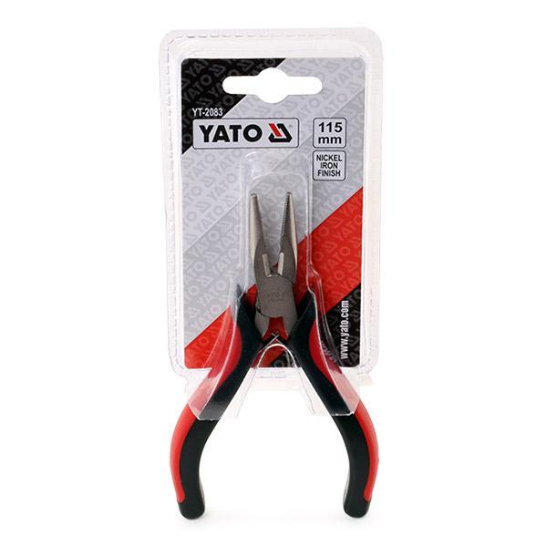 Flachrundzange YATO YT-2083 Erfahrung