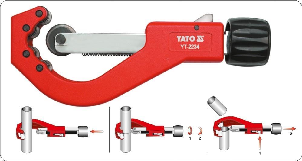 Dispozitiv de taiat teava YATO YT-2234 nota