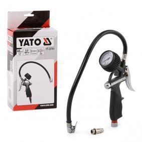 YATO Däcktrycksprovare / -fyllare YT-23701