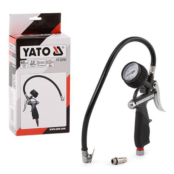 Compressed Air Tyre Gauge / -Filler YT-23701 YATO YT-23701 original quality