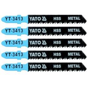 YATO Fűrészlap készlet, szúrófűrész YT-3413