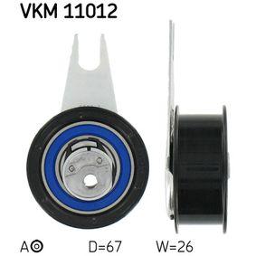 Spannrolle, Zahnriemen Ø: 67mm mit OEM-Nummer 028 109 243 B