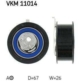 Spannrolle, Zahnriemen Ø: 67mm mit OEM-Nummer 1669 904