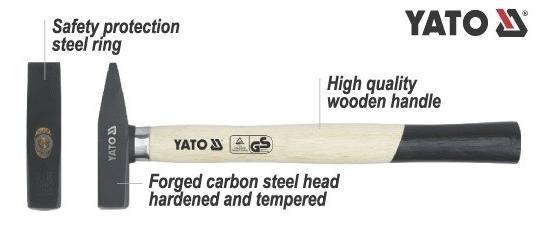 Martelo de bola YATO YT-4508 conhecimento especializado
