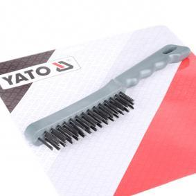 YATO Szczotka druciana, czyszczenie zacisku hamulca tarczowego YT-6353