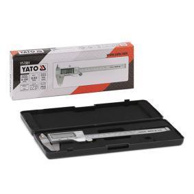 YATO шублер YT-7201