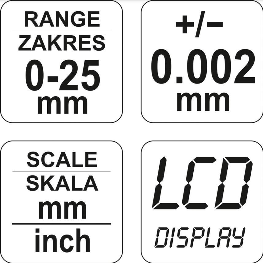 Vite micrometrica YATO YT-72305 valutazione