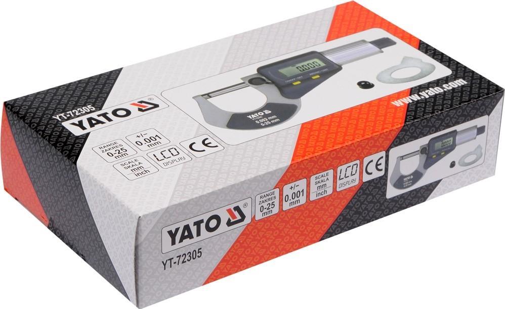 Vite micrometrica YATO YT-72305 conoscenze specialistiche