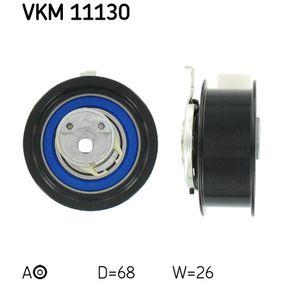 Rolo tensor, correia dentada Ø: 68mm com códigos OEM 038 109 243N
