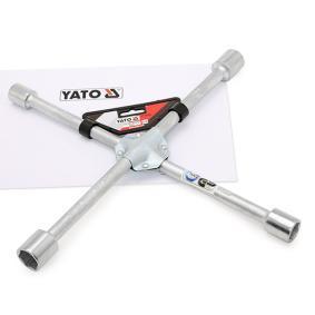 YATO Llave de cruz para rueda de cuatro vías YT-0800