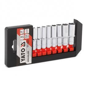 """Socket Set Square Drive Tang Size: 6.3 (1/4"""")mm (inch), Spanner size: 5,5, 6, 7, 8, 9, 10, 12, 13"""