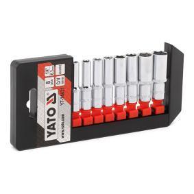 """Jogo de chaves de caixa Dimensões da manivela quadrada: 6,3 (1/4"""")mm (pol.), Abertura: 5,5, 6, 7, 8, 9, 10, 12, 13"""