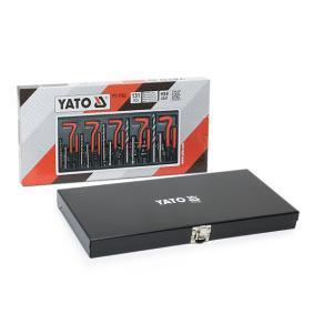 YATO Conjunto de ferramentas, casquilhos roscados YT-1763