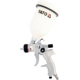 Farbsprühpistolen YATO YT-2340 für Auto (Inhalt: 0,6l, Anschlussgewinde: 1/4, Luftverbrauch: 410l/min)