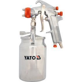 Farbsprühpistolen YATO YT-2346 für Auto (Inhalt: 1l, Anschlussgewinde: 1/4, Luftverbrauch: 380l/min)