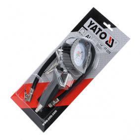 YATO Däcktrycksprovare / -fyllare YT-2370