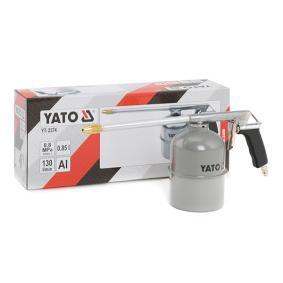 Farbsprühpistolen YATO YT-2374 für Auto (Inhalt: 0,850l, Anschlussgewinde: 1/4, Luftverbrauch: 130l/min)