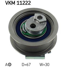 Touran 1T1, 1T2 2.0FSI Spannrolle, Zahnriemen SKF VKM 11222 (2.0FSI Benzin 2005 AXW)