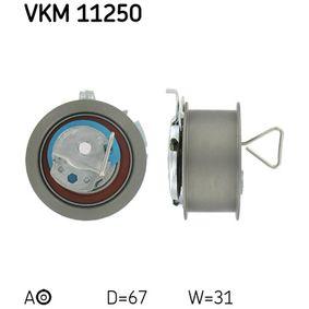 Spannrolle, Zahnriemen Ø: 67mm mit OEM-Nummer 038.109.243M