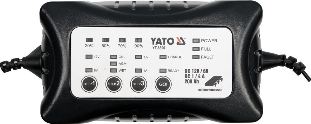 YATO  YT-8300 Chargeur de batterie