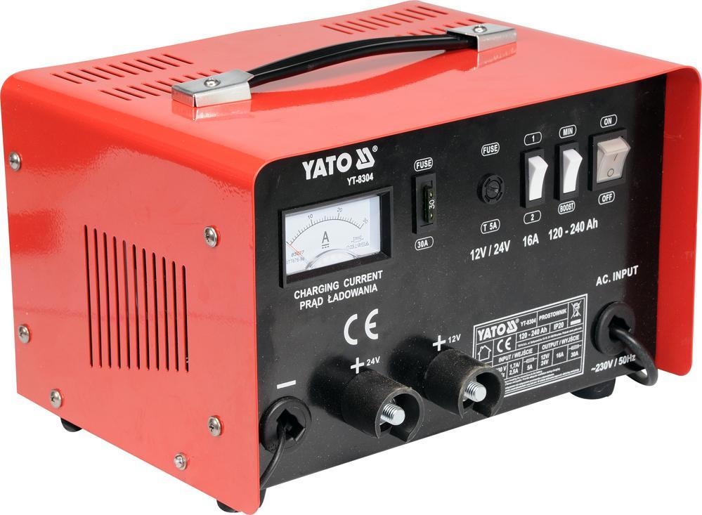 YATO  YT-8304 Car jump starter Voltage: 12, 24V