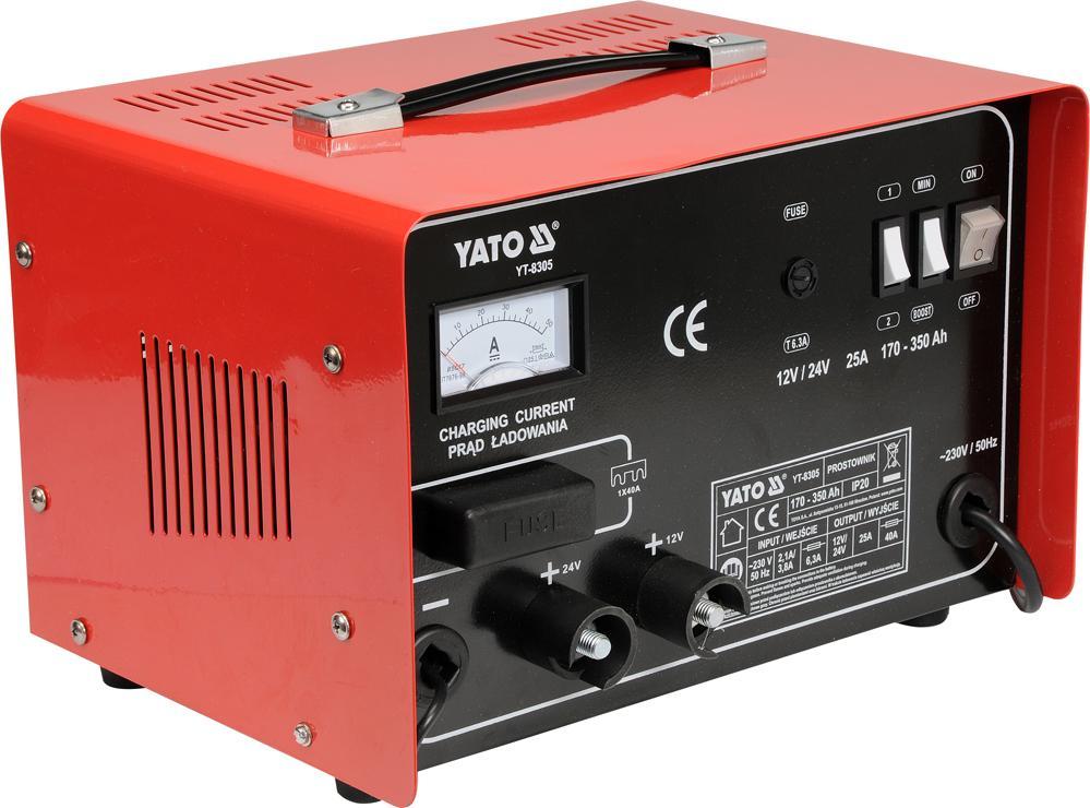 YATO  YT-8305 Car jump starter Voltage: 12, 24V
