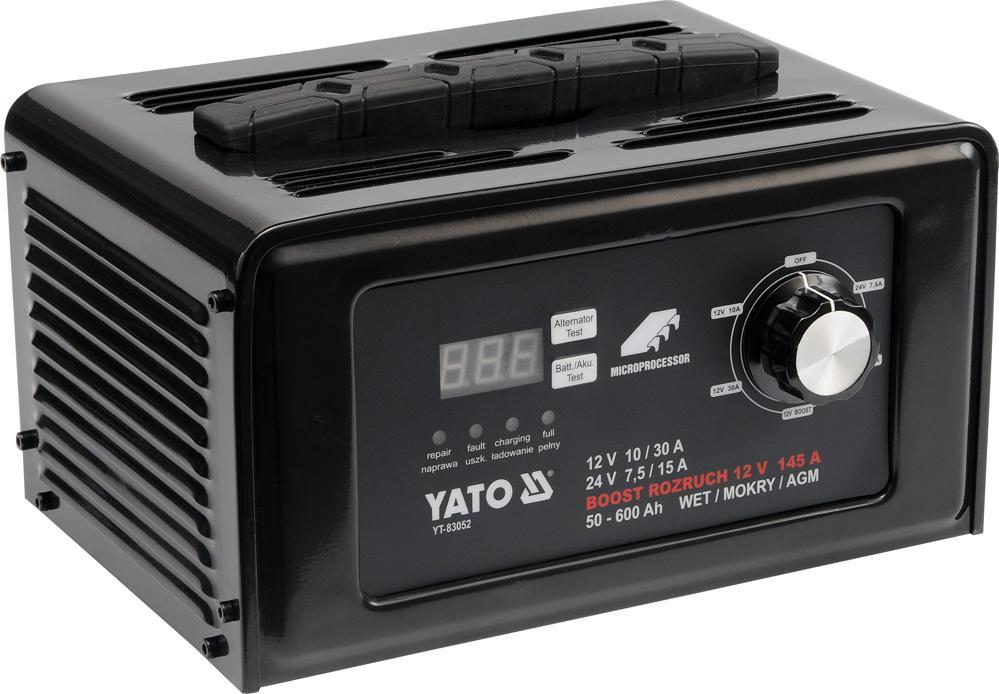 YATO  YT-83052 Car jump starter Voltage: 12, 24V