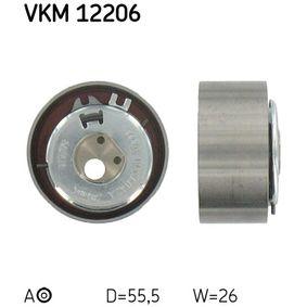 Tensioner Pulley, timing belt VKM 12206 PANDA (169) 1.2 MY 2006