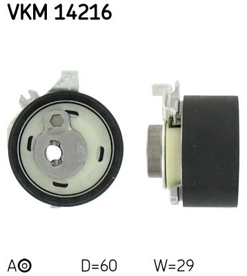 SKF  VKM 14216 Spannrolle, Zahnriemen