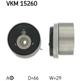 Tensioner Pulley, timing belt Article № VKM 15260 £ 140,00
