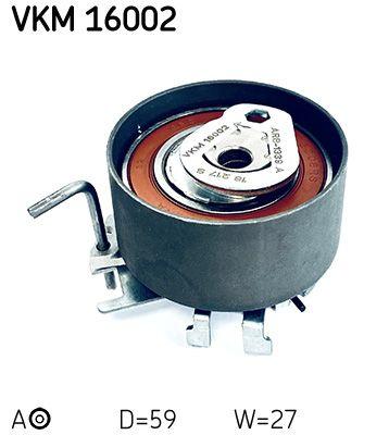SKF  VKM 16002 Spannrolle, Zahnriemen Ø: 59mm