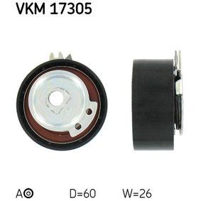 Обтяжна ролка, ангренаж VKM 17305 25 Хечбек (RF) 2.0 iDT Г.П. 2001