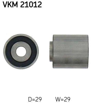 SKF  VKM 21012 Umlenkrolle Zahnriemen