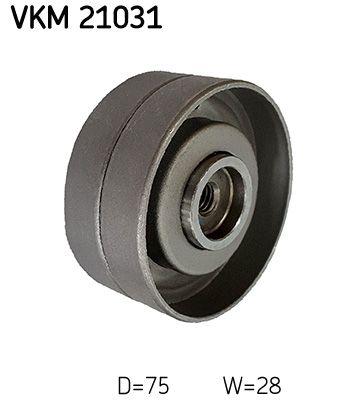 SKF  VKM 21031 Umlenkrolle Zahnriemen