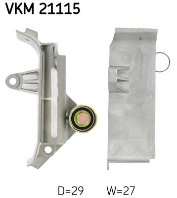 SKF  VKM 21115 Umlenkrolle Zahnriemen