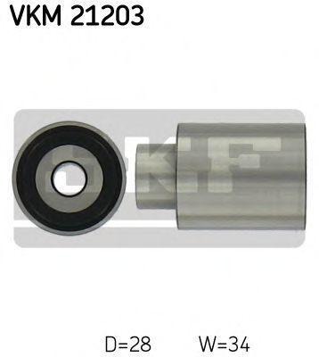 SKF  VKM 21203 Umlenkrolle Zahnriemen